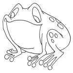 Înghite o broască vie