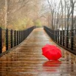 Umbrela roşie